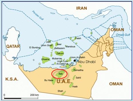 ADCO_Bab_Sour_Gas_Development_Map