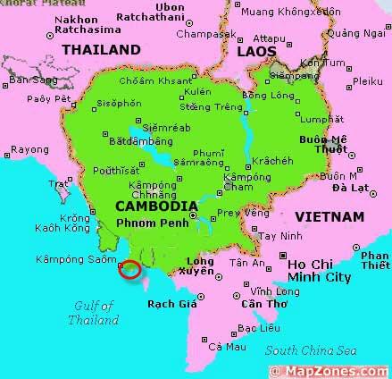 KBR_Kampong_Som_Refinery_Map