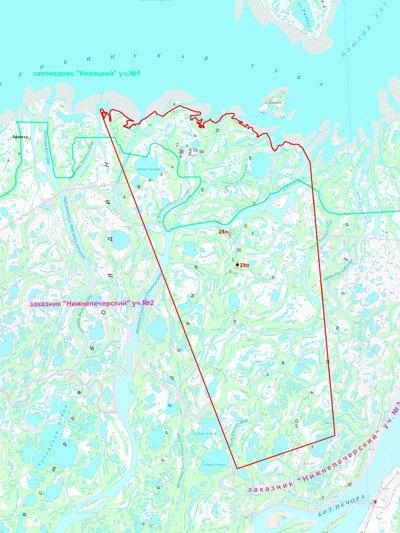 Alltech_Pechora_LNG_Kumzhinskoe_field_map