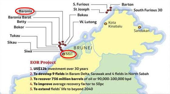Petronas_Shell_Baram_Delta_Operations_Enhanced_Oil_Recovery_Map