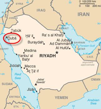 Saudi-Aramco-Midyan-Duba-Project-map