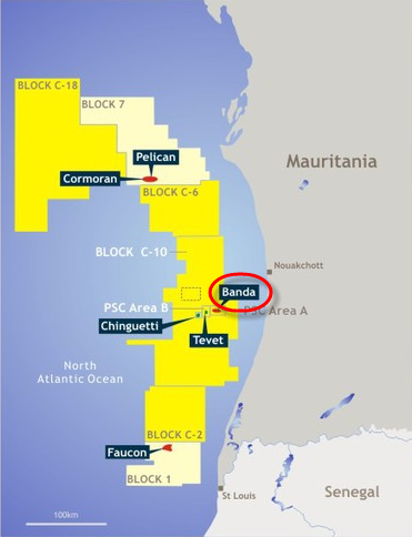Tullow_Mauritania_Banda_Gas-To-Power_Project_Map