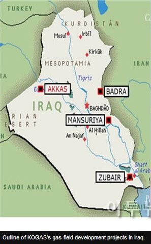 KOGAS_Iraq_Akkas_Gas_Central_Processing_Facility_Map