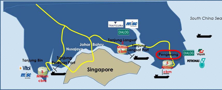 Dialog-Vopak_Johor_Pengerang_LNG_Terminal_Map