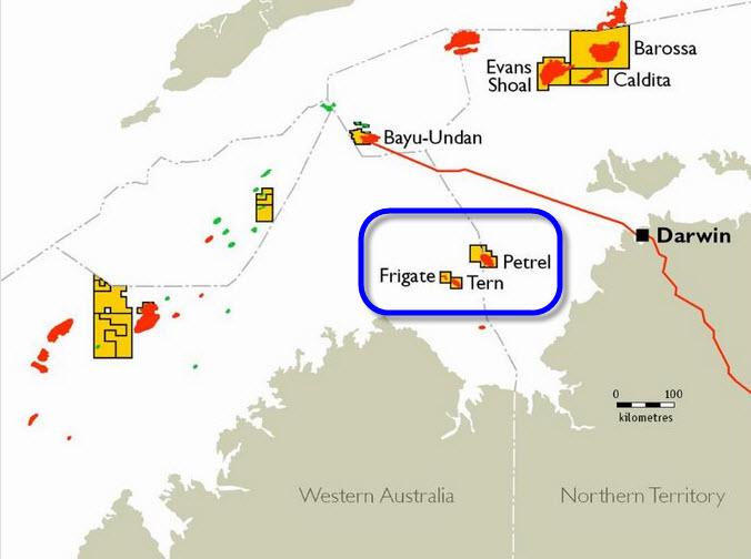 GDF-Suez_Santos_KBR_Technip_Bonaparte-FLNG_Project_Map