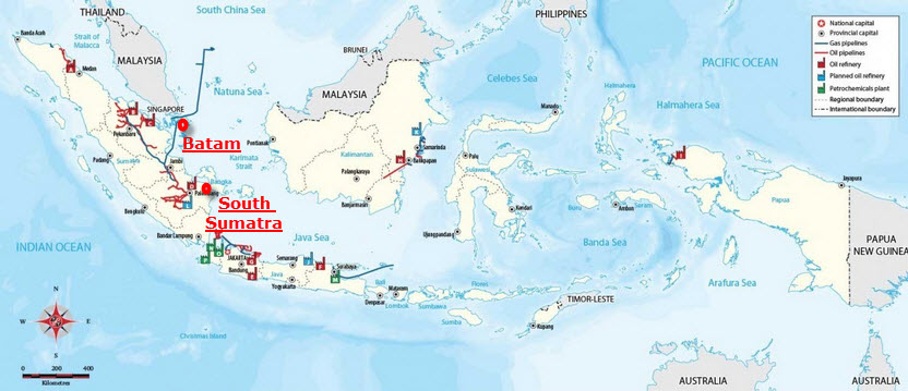 Indonesia_Refinery_Projects_Map