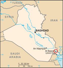 Iraq-SCR_Basra_Refinery_map