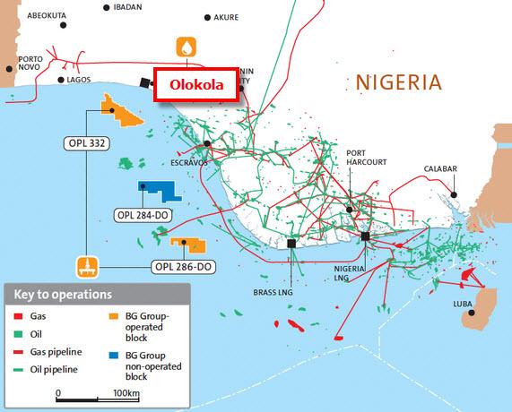 Nigeria_Dangote_EIL_Olokola_Refinery_Project_Map