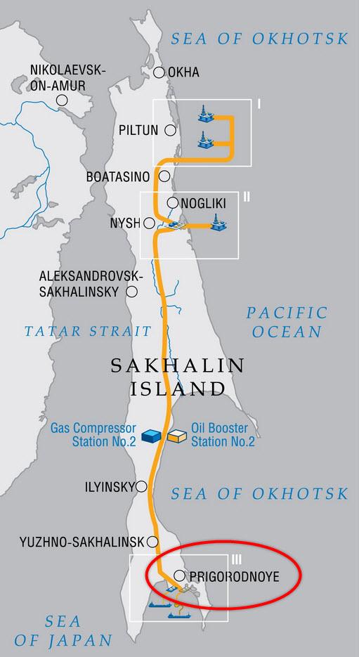 Gazprom_Shell_Mitsui_Mitsibishi_Sakhalin-II_Third-LNG-Train_FEED_Map