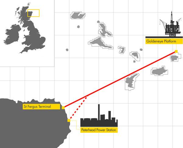 Shell_SSE_ Technip_Peterhead-CCS_Goldeneye_Project_Map