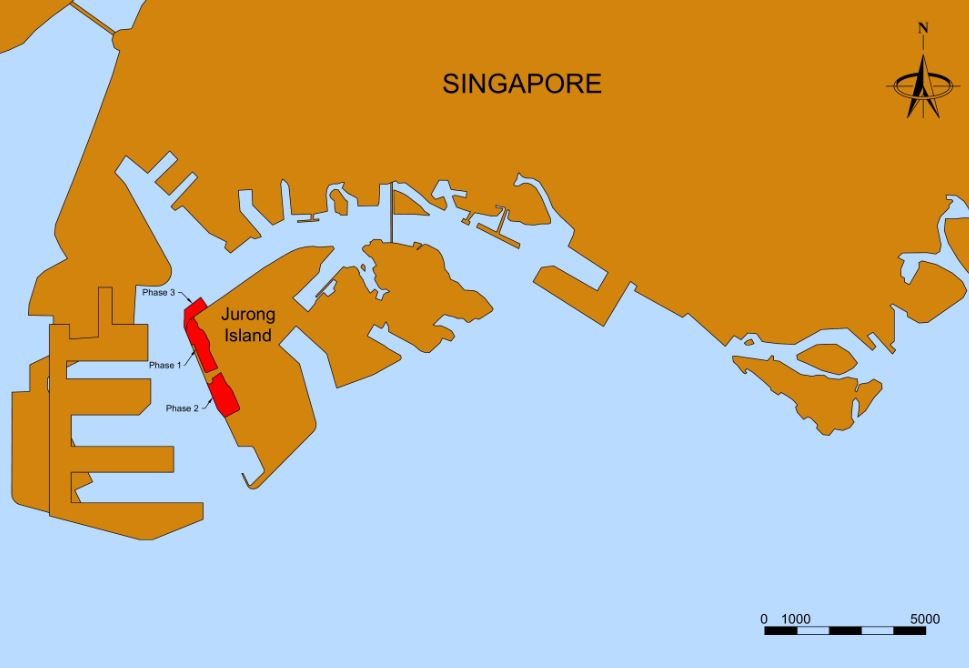 Singapore-Second-LNG-Terminal_Project_Map