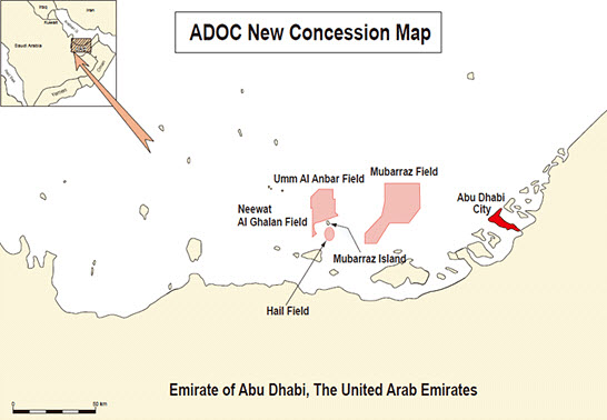 ADOC_Hail_Field_Technip-FEED_Mott-MacDonald-PMC_Map