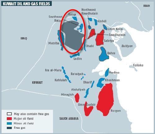 KOC_Lower_Fars_Heavy_Crude_Field_Map