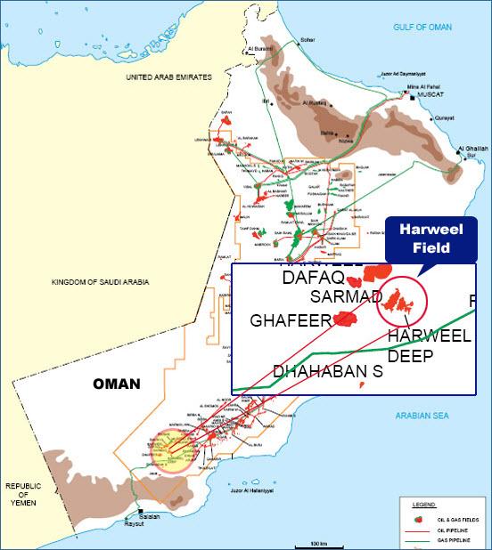 Oman_PDO_Petrofac-Rabab-Harweel-Integrated-Project_Map