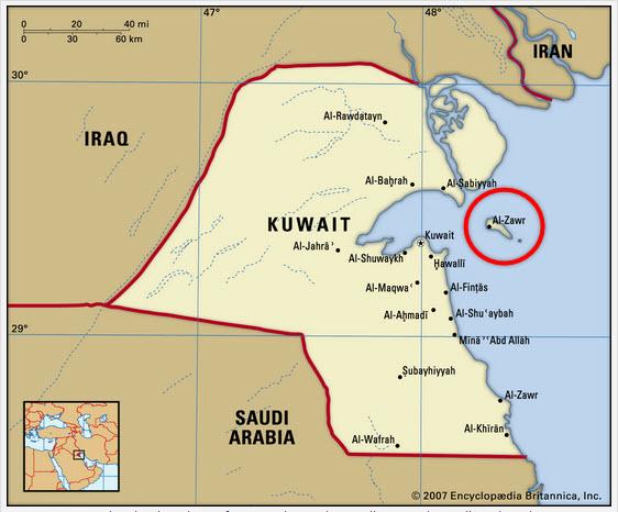 PIC_Al-Zour_Kuwait_Olefins-3_Fluor_FEED_map.