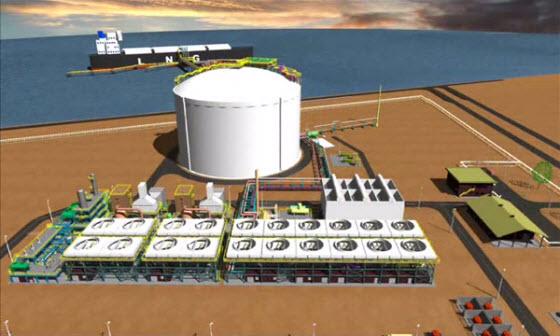 Gladstone_LNG_Fisherman_Landing_LNG_Project