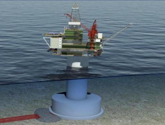 Husky-Suncor-Nalcor_White-Rose-Expansion-Platform_Concrete-Gravity-Structure
