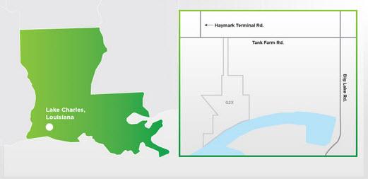 G2X-Energy_MHTL_Big-Lake-Fuels_Louisiana_Methanol-to-Gasoline_Project_map