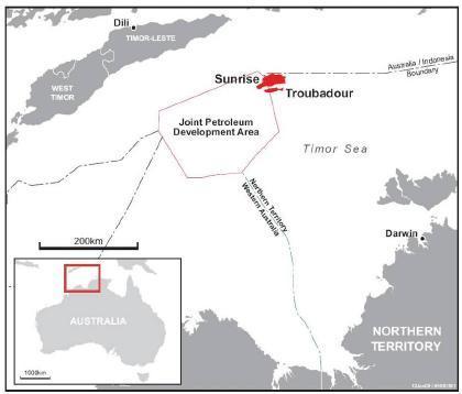 Woodsite_Greater-Sunrise-LNG_Australia-Timor-Leste_Map